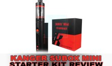 Kanger Subox Mini Starter Kit Review