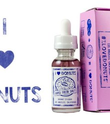 I Love Donuts E-Liquid Review