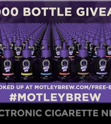 Motley Brew Announces 1000 Bottle E-Liquid Giveaway