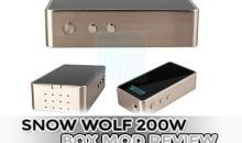 Snow Wolf 200W Box Mod Review