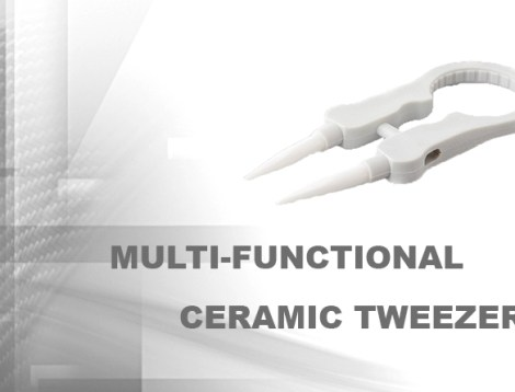 multi-functional ceramic tweezer