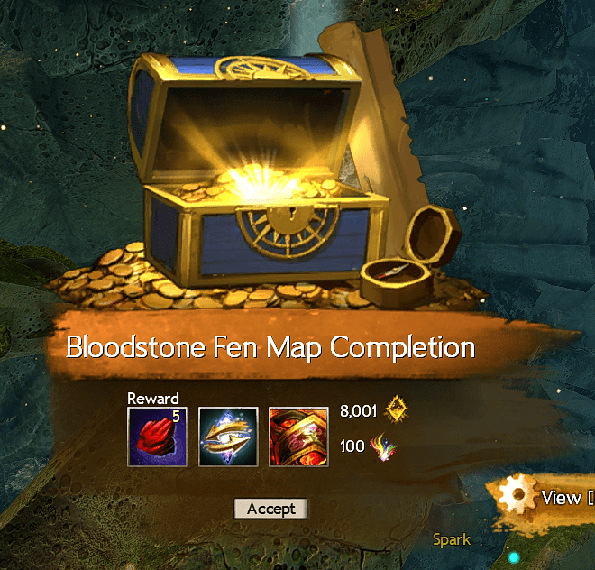 Bloodstone Fen Map Completion
