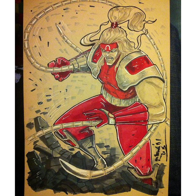 #marvel #posca #paper #pigmamicron #copic #aquarelle #omegared #illustration #art #comics #drawing