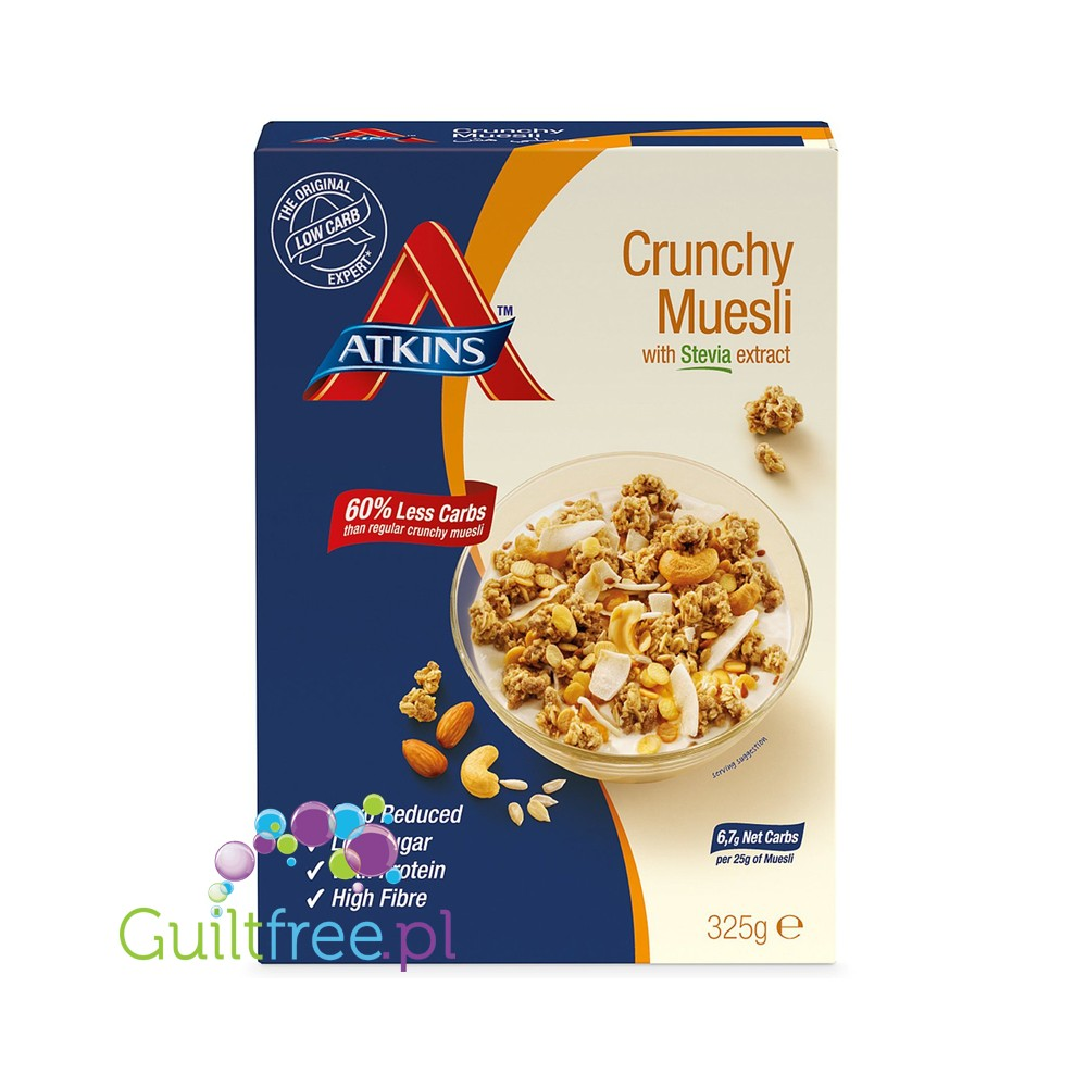 Müsli Crunchy Atkins Granola Breakfast Cereals With Nuts And Seeds Guiltfree Pl