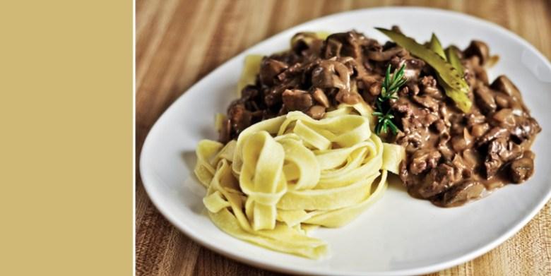 Paleo Campbell's Kitchen Beef Stroganoff