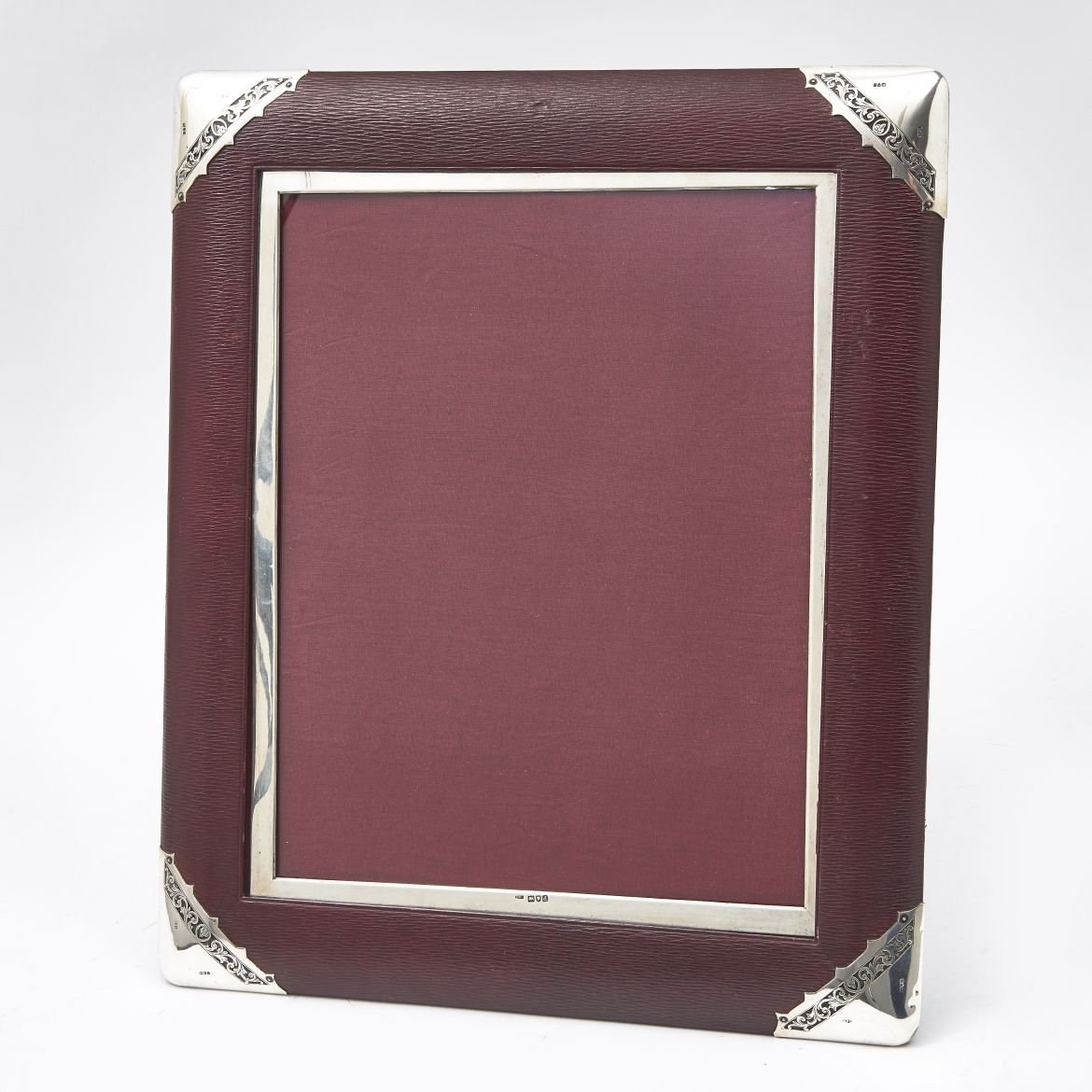 Large Frame Picture Guinevere Antiques Large Leather Frame
