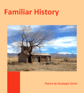 "The cover image of my chapbook, published as part of ""Familiar History: Poetry About the American West"" and ""Hear Me Read My Latest Poems About Pioneers and Creationism"""