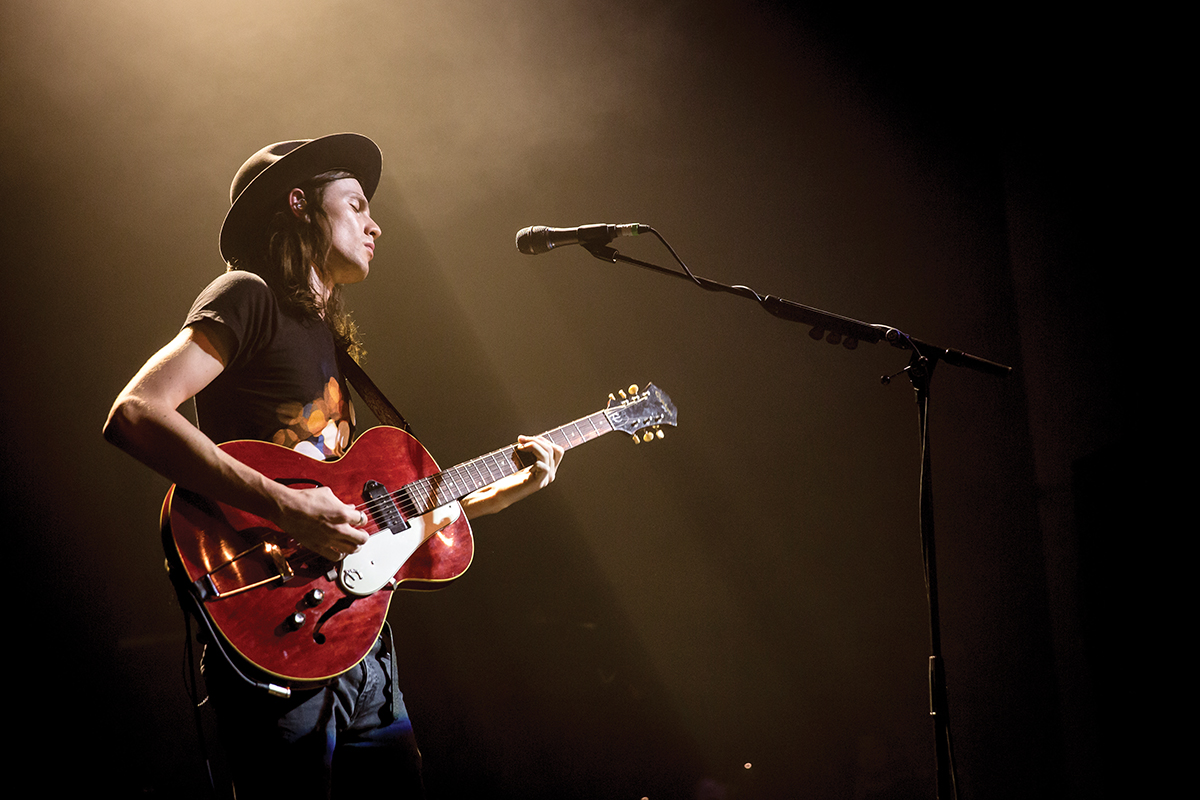Bad James Bay Chords Interview James Bay His Epiphone Century Guitar
