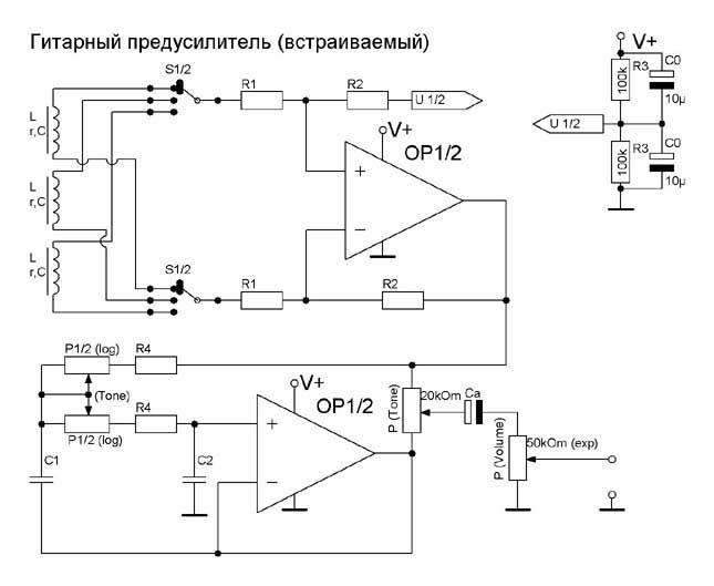 Active Pick Up Wiring Schematic Wiring Diagram