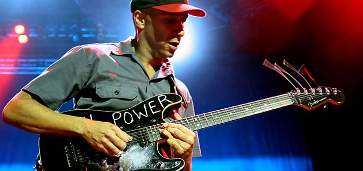 Tom Morello Guitar Gear Rig Audioslave - Guitar Gear Finder