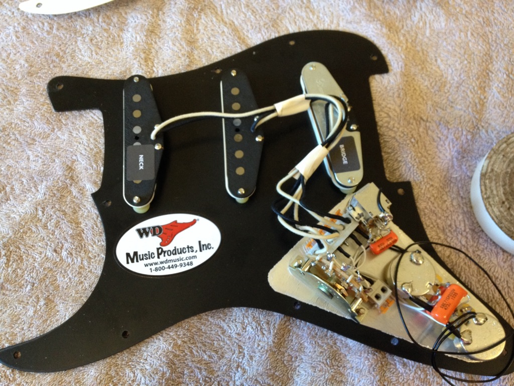 David Gilmour Wiring Mod Diagram Auto Electrical Fender Roland Ready Strat Vintage Gibson Sg