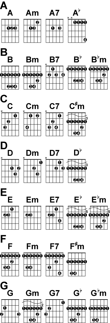 GuitaristGuitarist Guitar chord charts, How to understand guitar