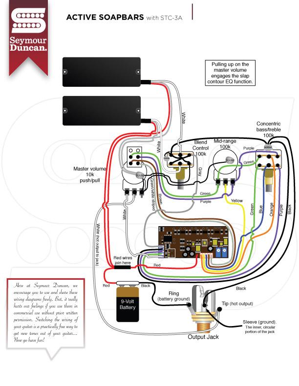 Fender Jazz Bass Wiring Diagram - Wiring Solutions