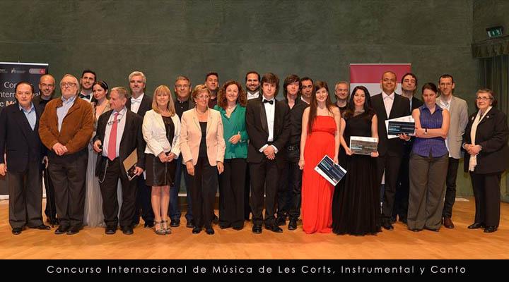 Concurso Internacional de Música de Les Corts Instrumental y Canto