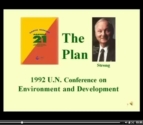 Sovereignty International Presentation, Agenda 21