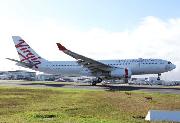 Virgin Blue Group Launches New Aircraft In Sydney