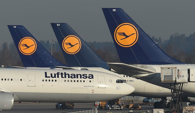 GERMANY-AIRLINE-STRIKE-LUFTHANSA