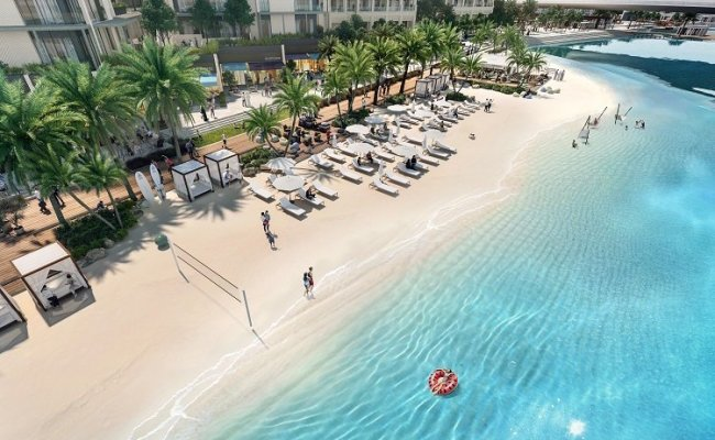 New Beach District Launched At Dubai Creek Harbour Project Gulf Business