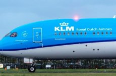 KLM Royal Dutch dreamliner