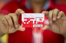 Inside an Ooredoo Mobile Phone Store