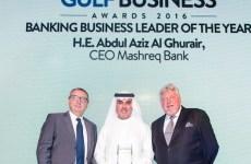 Banking business leader of the year: H.E. Abdul Aziz Al Ghurair, CEO of Mashreq Bank