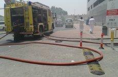 Pictures: Fire In Dubai Media City Building