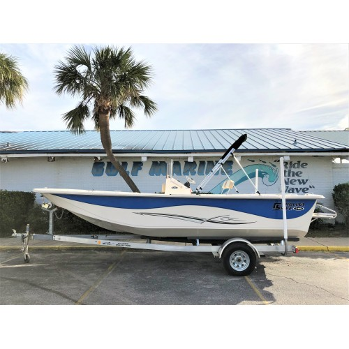 2019 218 DLV by Carolina Skiff (Electric Blue)
