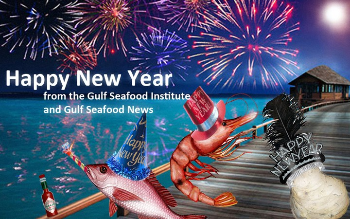 Happy New Year from the Gulf Seafood Institute and Gulf Seafood News!