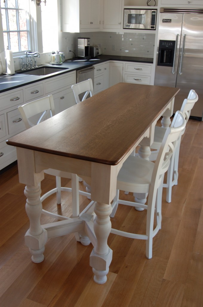 Kitchen Island With Table Height Seating Kitchen Islands On Pinterest | Kitchen Islands, Kitchen