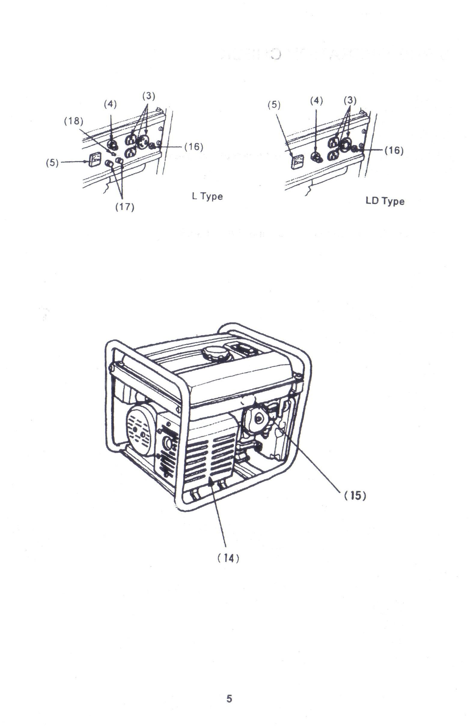 generator circuit breaker generator parts