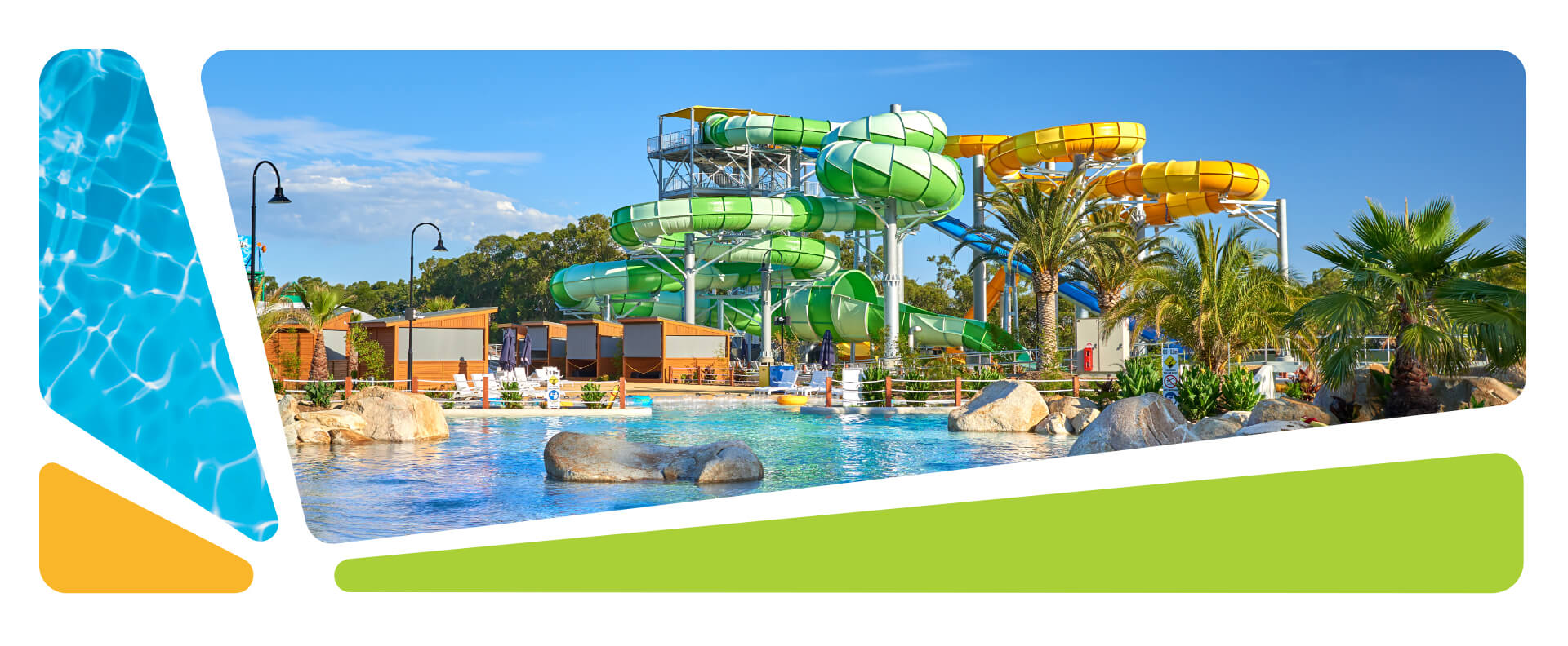 Парк мира Oasis Springs The Best Water Park In Melbourne Gumbuya World