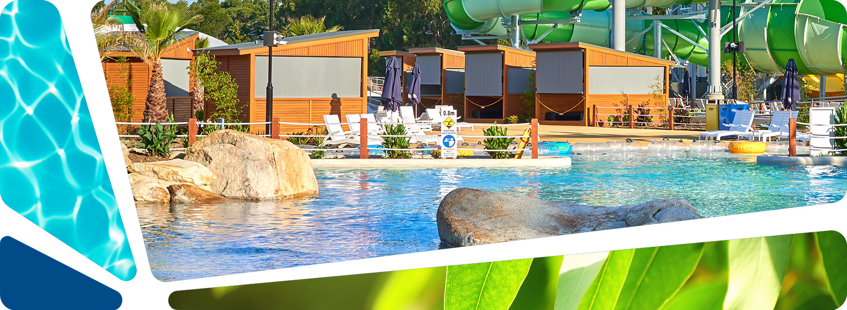 Парк мира Cabana Hire At The Water Park Gumbuya World