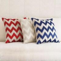 Chevron Pattern Pillow   Gump's