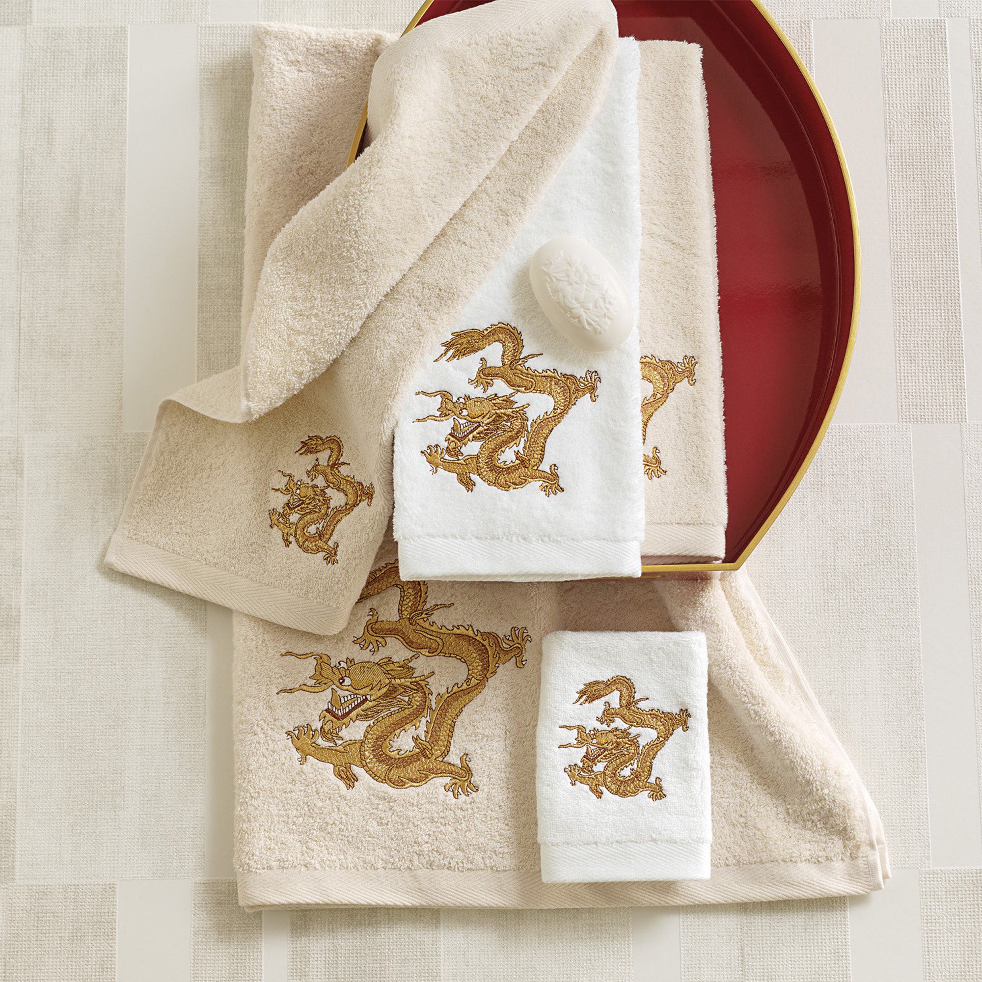 Dragon Bathroom Accessories Golden Dragon Towels Gump 39s