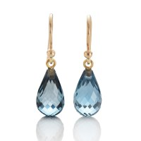 Gump's Blue Topaz Briolette Earrings | Gump's