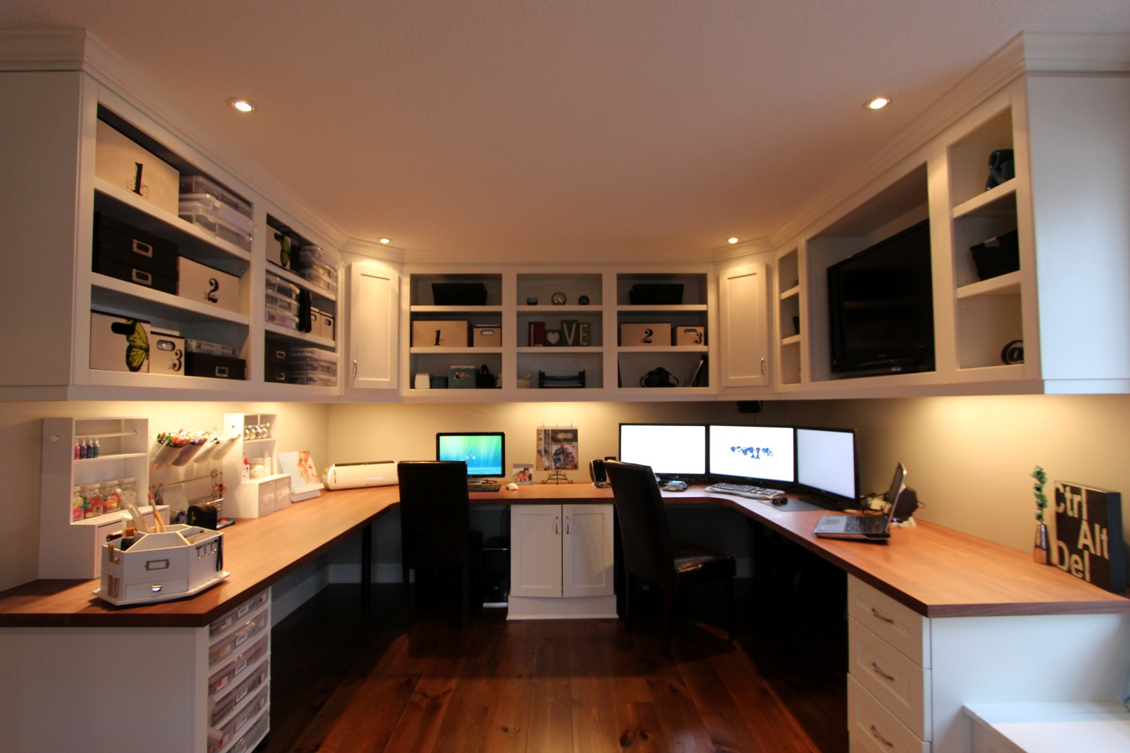Home Office Space For Two Home Office And Workspaces Gum Tree Cabinets