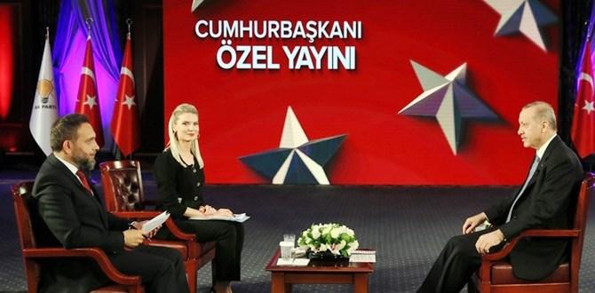 "TRT ""Cumhurbaşkanı Özel Yayın""ı Tam Metin"