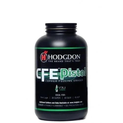 Hodgdon CFE Pistol Powder - 1 LB - $2199 gundeals
