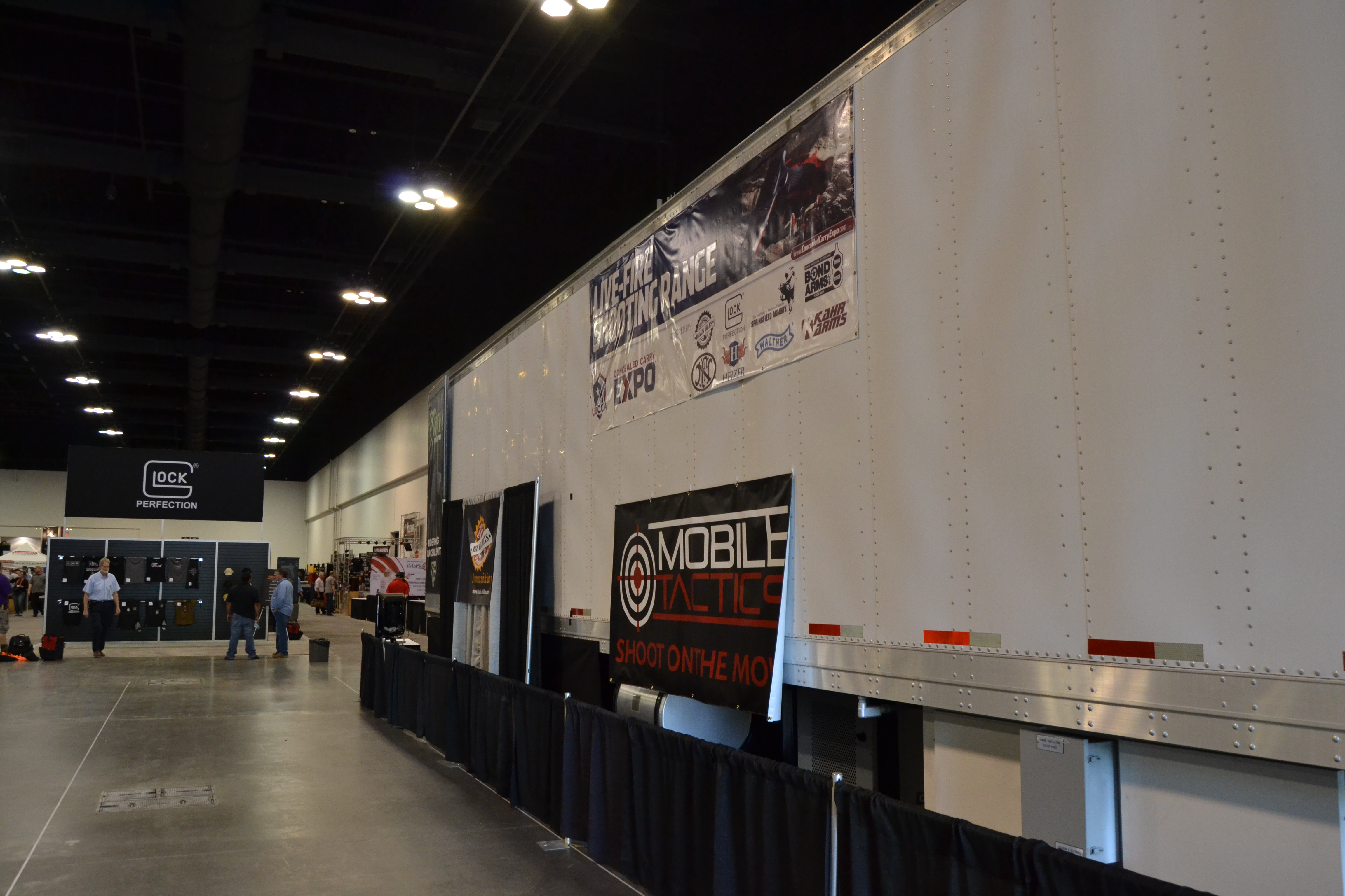 Mobile Tactics – A Mobile Three Lane Gun Range – At the USCCA Concealed Carry Expo