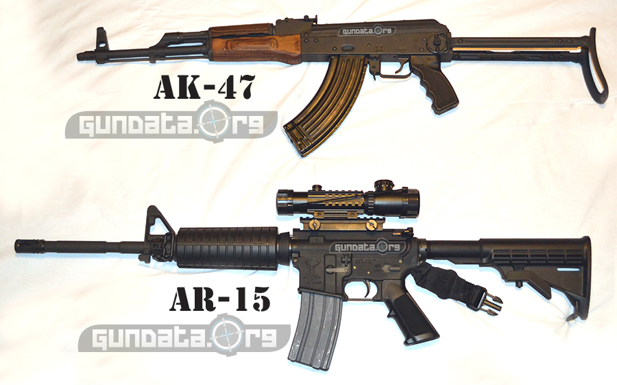 AK-47 Vs AR-15 History And Facts GunDataorg