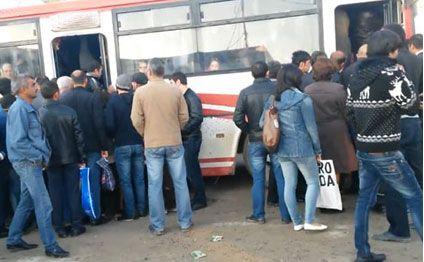 Image result for avtobusda basırıq