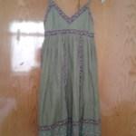 2 TL ye aldığım elbisem