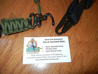Para Cord Two-Point Rifle Sling