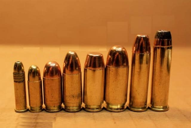 Handgun Calibers Comparison From Smallest to Largest 2018