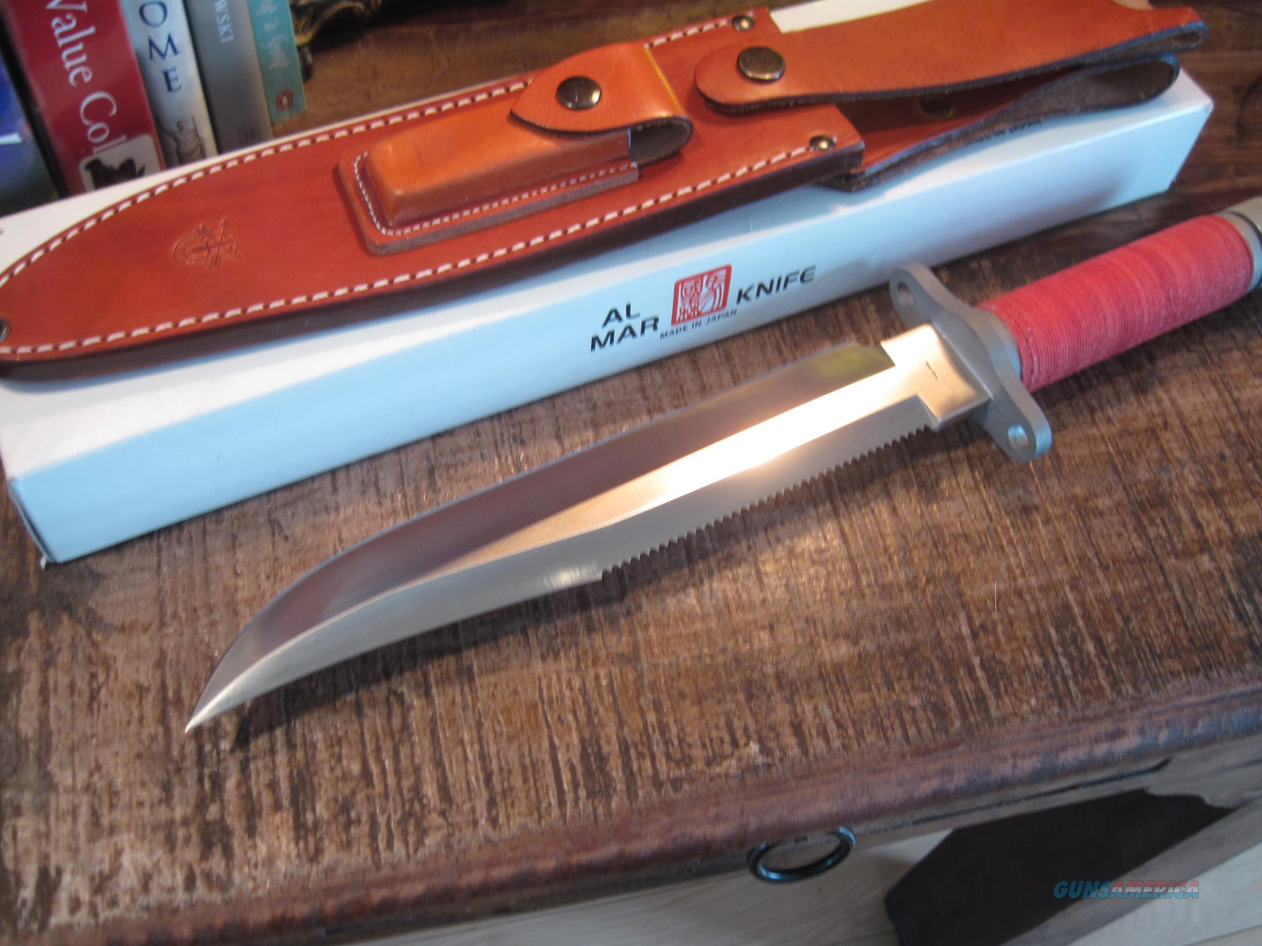 High End Cutlery Rare Al Mar Survival Dagger Sf 10 Nib For Sale