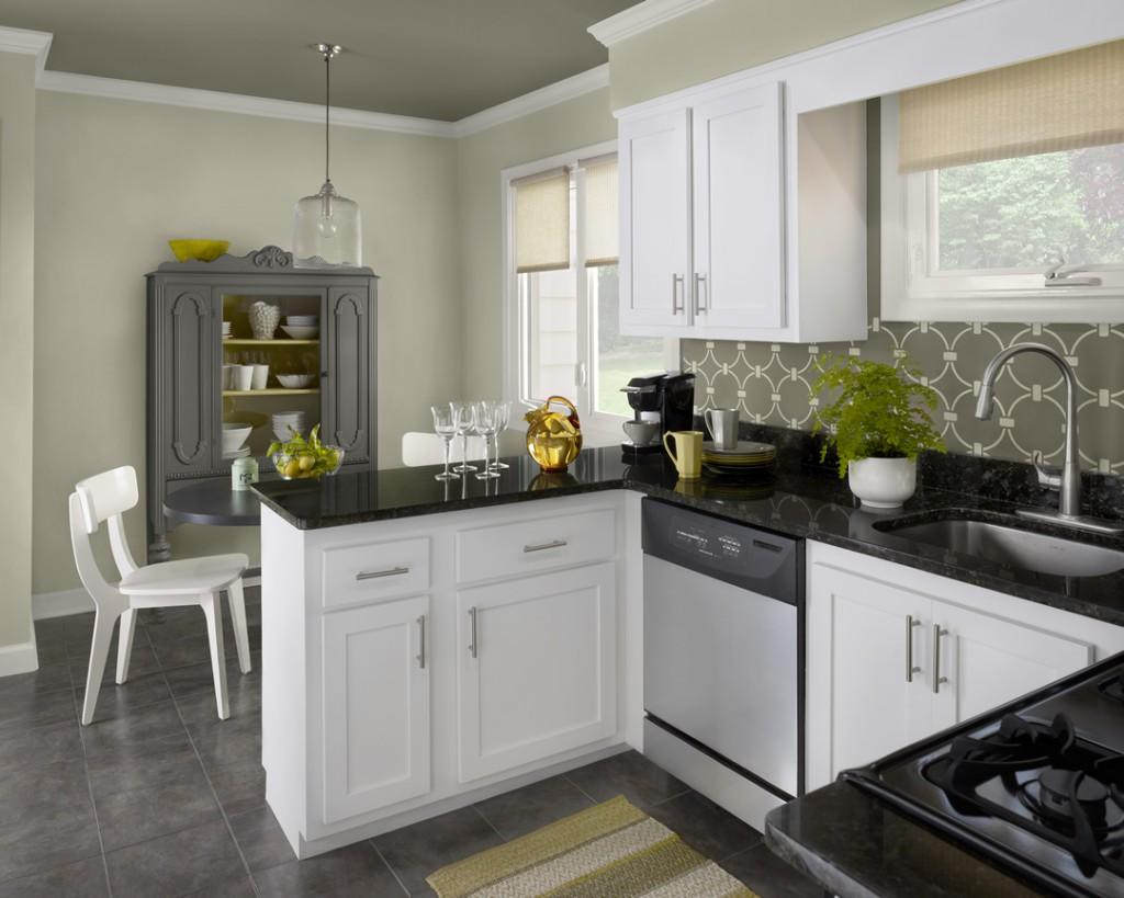 White Kitchen Wall Cabinets The Luxury Kitchen With White Color Cabinets Home And