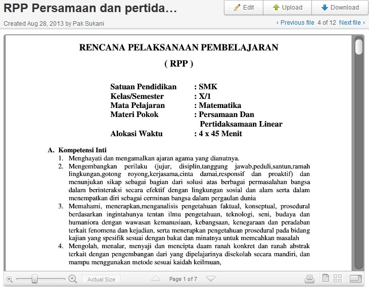 Free Contoh Rpp Kls 4 Kurikulum 2013 Icefilmsinfo Discover And Search All The Best Free Our Rating 4 20 147 Votes 5 Stars 4 Stars