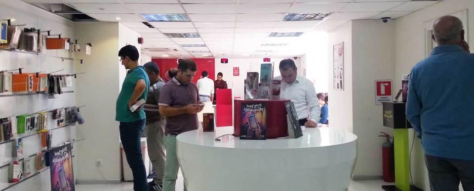 LG G4 kullanıcıları LG Türkiye Teknik Servisinin müthiş atmosferinin keyfini çıkarıyor