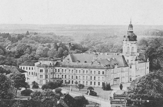 So sah's mal aus, das Schloss (um 1910)