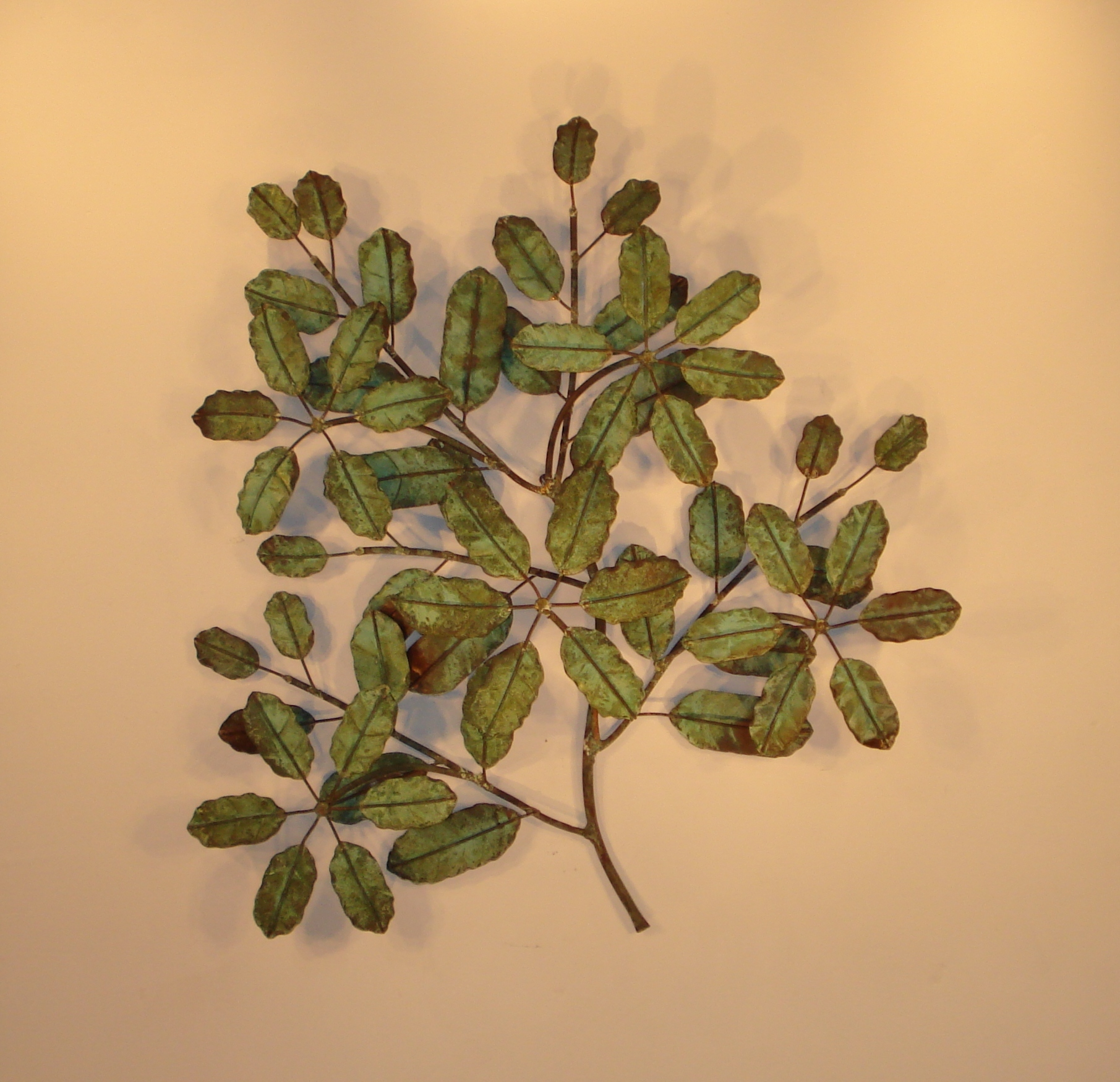 Leaf Metal Wall Art Metal Wall Art And Wall Décor Leaves Gurtan Designs